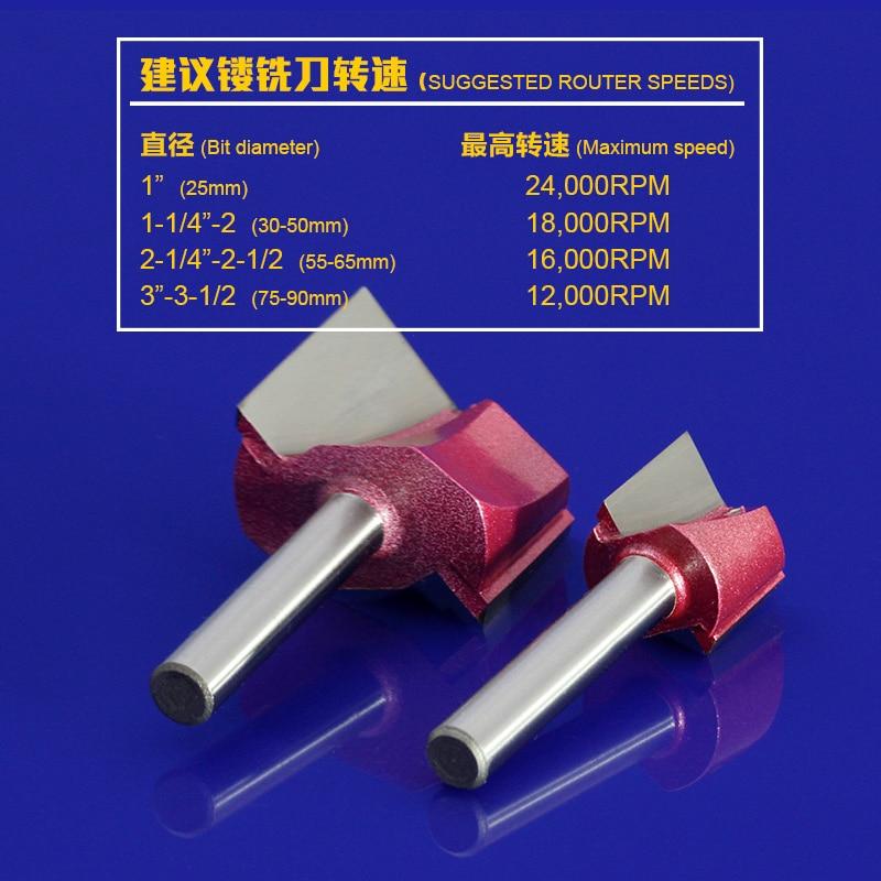 1vnt 6 * 22mm CNC valymo dugno maršrutizatorius, 3D medienos - Staklės ir priedai - Nuotrauka 3