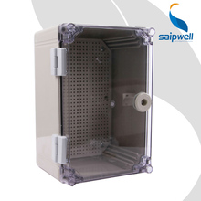 Superior Quality  CE Approved Grey  ABS  Waterproof Plastic Box with  PC cover IP66 300*200*160mm