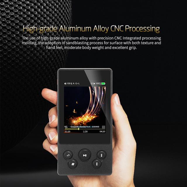 XDUOO X3II X3 II AK4490 USB DAC Bluetooth Portable HD Lossless MP3/WAV/ FLAC Music Player DSD128 Hiby Link In-line Control