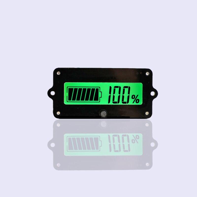 12V24V36V48V lead acid battery lithium battery power voltage display residual power percentage аккумуляторная батарея lead acid battery 6v4ah 20hr