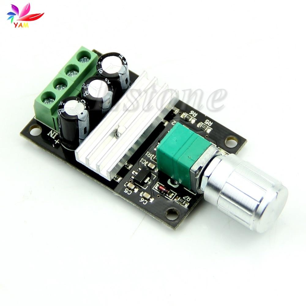 PWM DC 6 V 12 V 24 V 28 V 3A Motor Speed Control Switch 1203BK Controller-OTh-OTh digital dc motor pwm speed control switch governor 12 24v 5a high efficiency