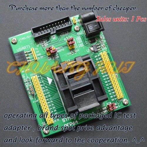 IC ТЕСТ STM32 STM32 TQFP64 QFP64 тест гнездо Программист адаптер