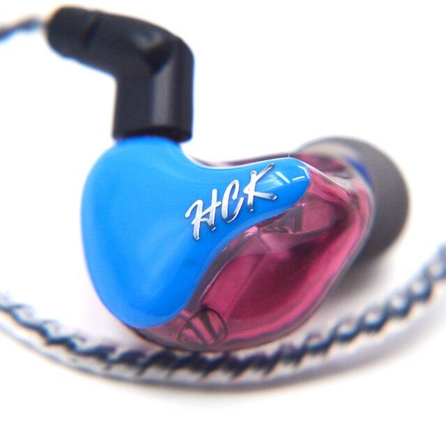 2017新しいnicehck DZ-2BAで耳イヤホン2baユニットdiy hifiモニター印刷nicehckカスタマイズされたイヤホンヘッドセット送料無料