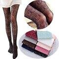 Hot! mulheres meias sexy summer outono collants ocos japonês rendas meia-calça meias arrastão alta elástica meia-calça vintage