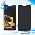 Free Shipping Black White Replacement Parts for Motorola Droid RAZR HD XT925 XT926 LCD Display Screen with Touch Digitizer
