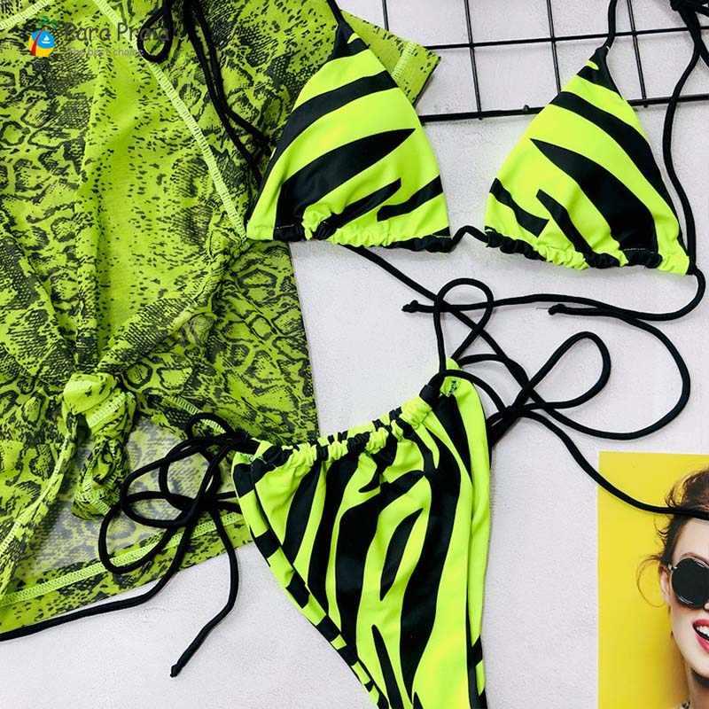 Комплект бикини из трех предметов, сексуальный пуш-ап бикини с футболкой, стринги, купальники, Бразильский купальный костюм, женская пляжная одежда, мини бикини, микро