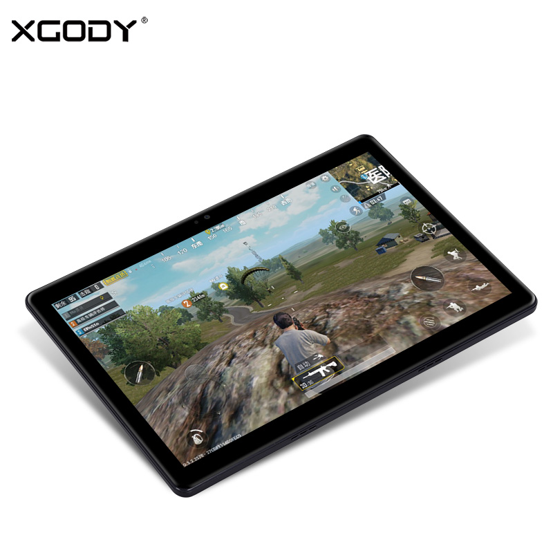 XGODY N808 3G Unlock Phone Call Tablet PC 10.1 Inch Android 6.0 MTK6580 Quad Core 1GB RAM 16GB ROM OTG 5000mAh Tablets Dual Sim lenovo a3000 7 ips quad core android 4 2 3g phone tablet pc w 1gb ram 16gb rom bluetooth black