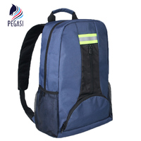 PEGASI Oxford Fabric Shoulders Multi Function Outdoor Thicken Backpack Electricians Tool Bag Blue Maintenance Durable