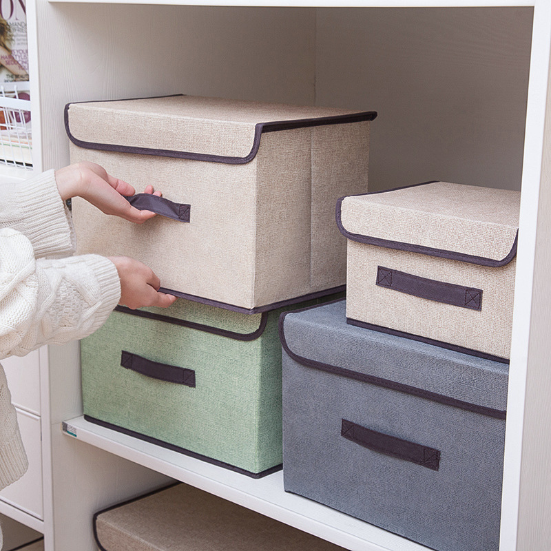 Closet Organizer Container Socks Divider-Case Underwear Storage-Box Wardrobe Desk Foldable title=