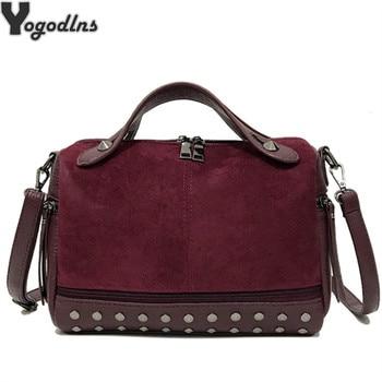 4efe775d4bf2 Product Offer. Новое поступление из нубука из искусственной кожи Сумки для  Для женщин повседневная женская обувь сумка ...
