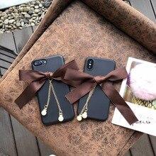2018 Новая мода 3D Бабочка Мягкий матовый силиконовый Мобильный Телефонные Чехлы для iphonex 8 8 плюс 7 7 плюс 6 S 6 плюс защитный В виде ракушки