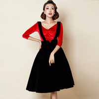 Retro Fashion Strap Dress High End Simple Cool Summer