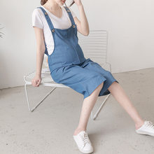 Summer Maternity Pant Pregnancy Suspender For Pregnant Women Overalls Maternity Braced Jumpsuits Uniforms Prop Belly Trousers(China)