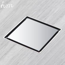 hm Floor Drainer Square Brass Shower Drainer Grate Waste Tile Insert Square Floor Waste Grates Bathroom Shower Drain Floor Drain цены