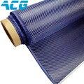 Синий углеродного волокна синий Кевлар углеродной ткани 200 г саржа/обычный для частей автомобиля DIY синий углеродной ткани высокого качество