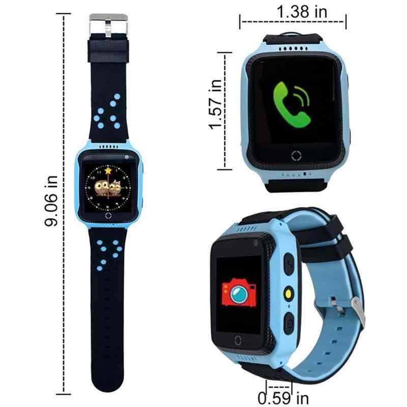 Gps анти-потерянный Q528 Детские умные часы SOS Вызов трекер Детские умные часы для мальчиков девочек безопасной Смарт часы для iOS Android PK Q90 Q50