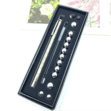 Creative Modular Polar Pen Magnetic Magnets Ball Touch With 12 Steel Balls Gift Hot