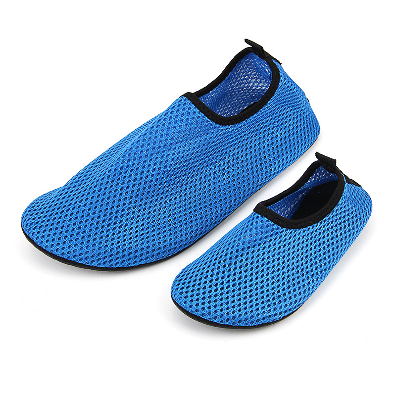 Children snorkeling shoes summer skin care diving beach socks boys swimming breathable beach shoes for girls mesh shoes big size in Slippers from Mother Kids