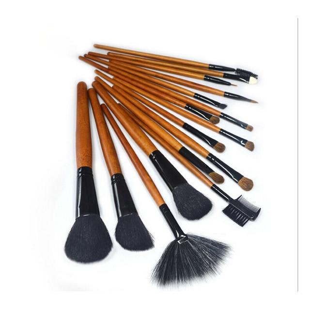 Women Makeup Brushes Soft Animal Wool Beauty 16 Pcs Cosmetic Kit High  Quality Makeup Brush Set 749ee0a50