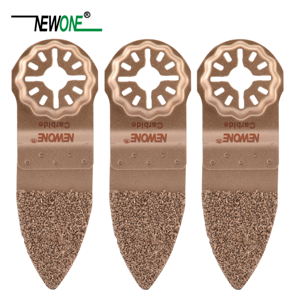 NEWONE Starlock Carbide Finger Saw Blades Fit Power Oscillating Tools For Polishing Ceramic Work