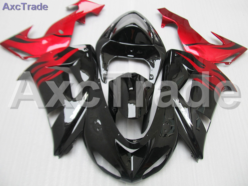 Bodywork Moto Fairings FIT For Kawasaki Ninja ZX10R ZX-10R 2006 2007 06 07 Fairing kit Custom Made High Quality ABS Plastic C489 black moto fairing kit for kawasaki ninja zx14r zx 14r zz r1400 zzr1400 2006 2007 2008 2009 2010 2011 fairings custom made c549