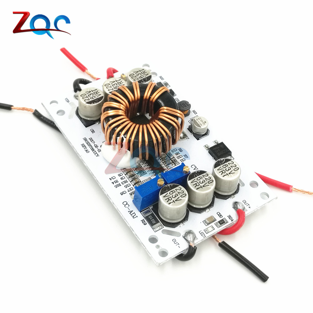 600W Aluminum Plate DC-DC Boost Converter Adjustable 10A Step Up Constant Current Power Supply Module Led Driver For Arduino
