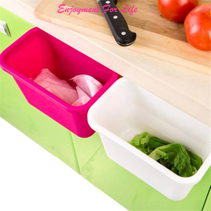 Kitchen cabinet doors hanging plastic trash 2016 new for Kitchen colors with white cabinets with slime logo stickers