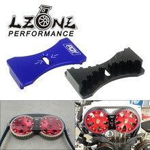 LZONE-aluminiowa blokada przekładni zębatej silnika montaż paska rozrządu dla Mitsubishi Lancer 4G63 Dodge Kia JR-CGL02