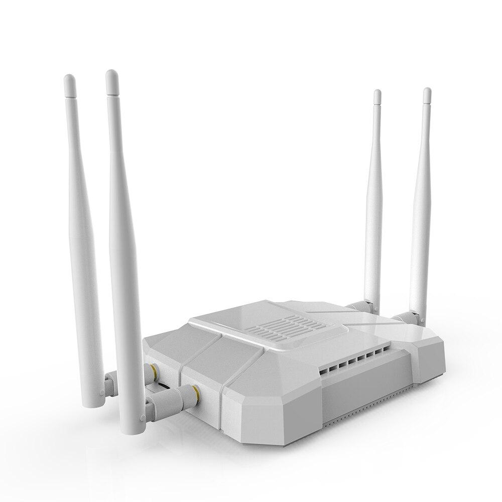 Routeur sans fil 3G/4G 867 Mbps WiFi répéteur 4 1200 Mbps 2,4 GHz/5 GHz 4G SIM 3G 4G routeur 4G LTE RouterVPN PPTP L2TP - 4