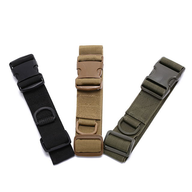 Simple Tactical Belt Military Fans Belt Fastening Tape Outdoor Equipment Wear Bag Riding Inside Nylon Bag Deputy 3 Colors