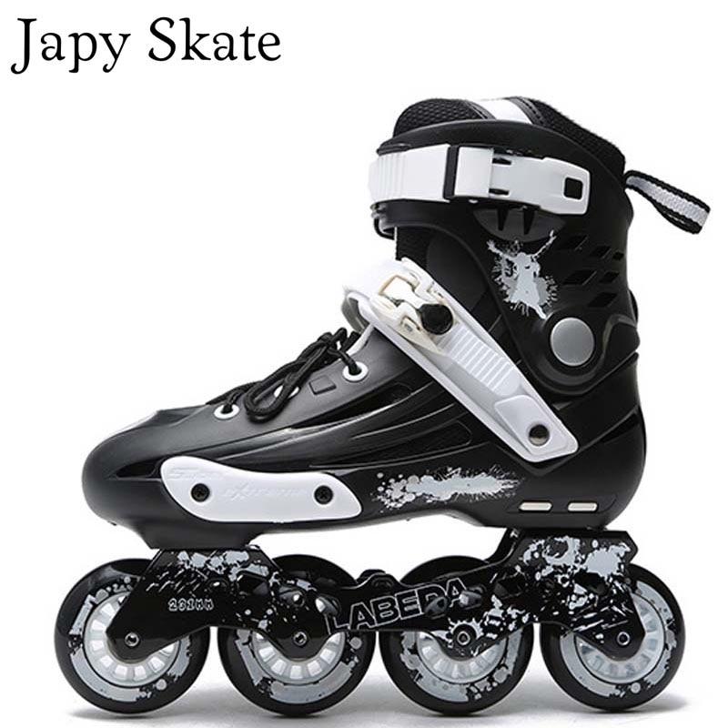 LABEDA V5 Inline Skates Adult Roller Skating Shoes Slalom Sliding Free Skating Athletic Patines Aduto цены онлайн