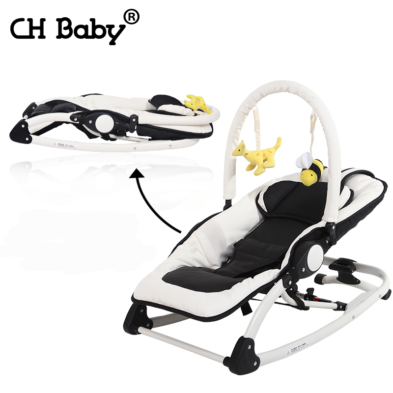 Chbaby electric baby rocking chair multifunctional music chaise lounge placarders chair baby shaker bb child cradle 2017 new babyruler portable baby cradle newborn light music rocking chair kid game swing
