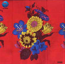LIULANZHI nigerian wax fabrics african fabric cotton prints nice flower pattern 6yards for party YR01-06