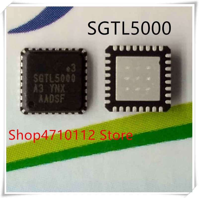 NEW 10PCS/LOT SGTL5000XNAA3 SGTL5000 QFN-32 IC