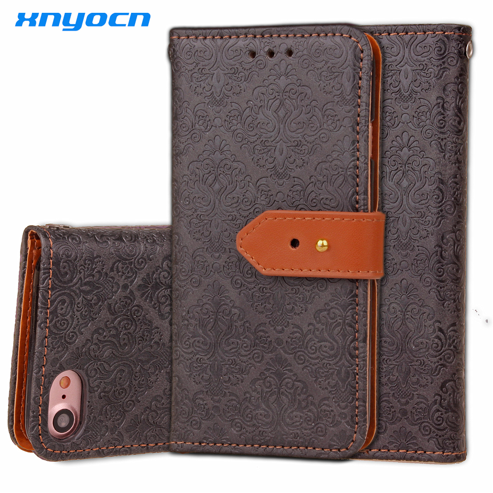 Luxury Wallpapers Palace Flower Flip Genuine Leather Case For Apple iphone4 4s 5 5s 5C SE 6 6s 7 Plus PU soft
