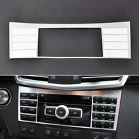 New Brushed Aluminium Center Console Button Switch Panel Cover Trim For Benz W212 E Class 2010