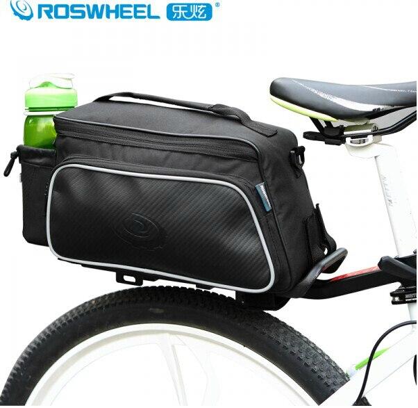 ROSWHEEL 10l практические Велосипедный Спорт bagstrunk Паньер велосипед задний сумка обновления ударопрочность и нервущегося черный