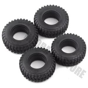 Image 5 - Pneus en caoutchouc de 1.9 pouces 105x35mm, ensemble de 4 pièces, pneus de voiture pour camion à chenilles RC 1/10, vodoo KLR Axial SCX10 90046 90047 AXI03007 RC