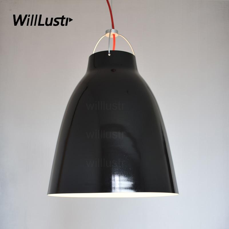 Willlustr Caravaggio Pendant Lamp Denmark Modern Aluminum Hanging Lighting Nordic CECILIE MANZ Design Suspension Light Hotel Bar