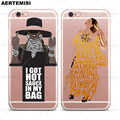 Cajas del teléfono Beyonce Limonada Sostener Formación Crystal Clear TPU Caso cubierta para apple iphone 5 5s se 6 6 s 7 más