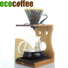 Ecocoffee V60 Coffee Dripper 580ML Heat-resistant Server Pap