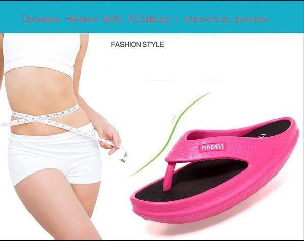 Популярные в Японии с стильный дом в конце дома-стиль женские дымоход бритая Обувь для похудения формирование обувь ssx09
