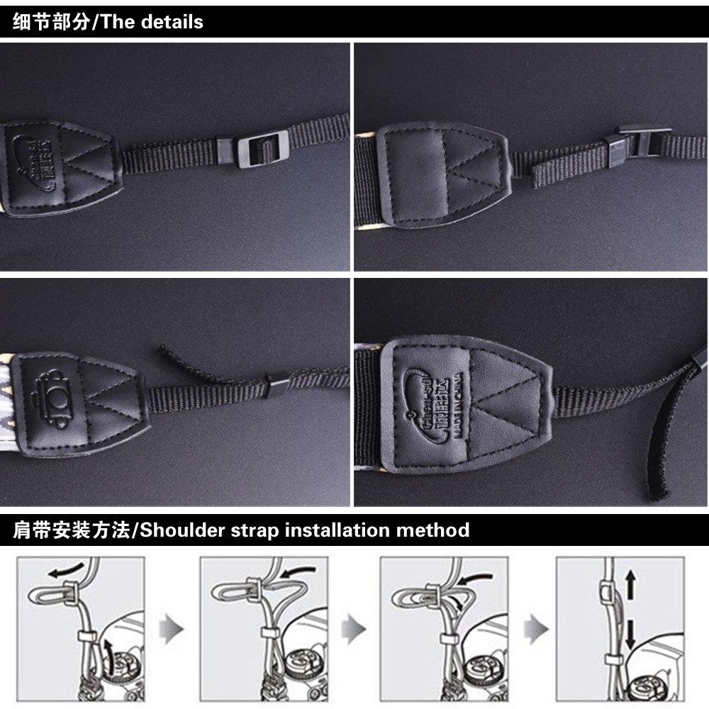Классический ремень для камеры Универсальный Ремень для камеры s плечевой ремень для Canon EOS sony марка Nikon Fuji Pentax Olympus SLR DSLR камера