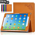 Magnet Leather Case For Teclast T98 4g 9.7 inch Cover Protective Cases Tablet Stand Flip Shell Skin + Screen Film + Stylus + OTG