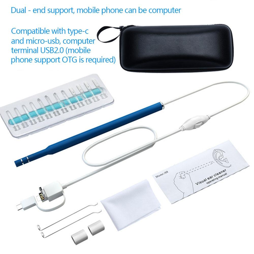 HD 2 м 5,5 мм 6LED USB инспекции Камера диагностировать Водонепроницаемый WI-FI инспекции эндоскоп очистки 2 м 5,5 мм 6LED бороскоп