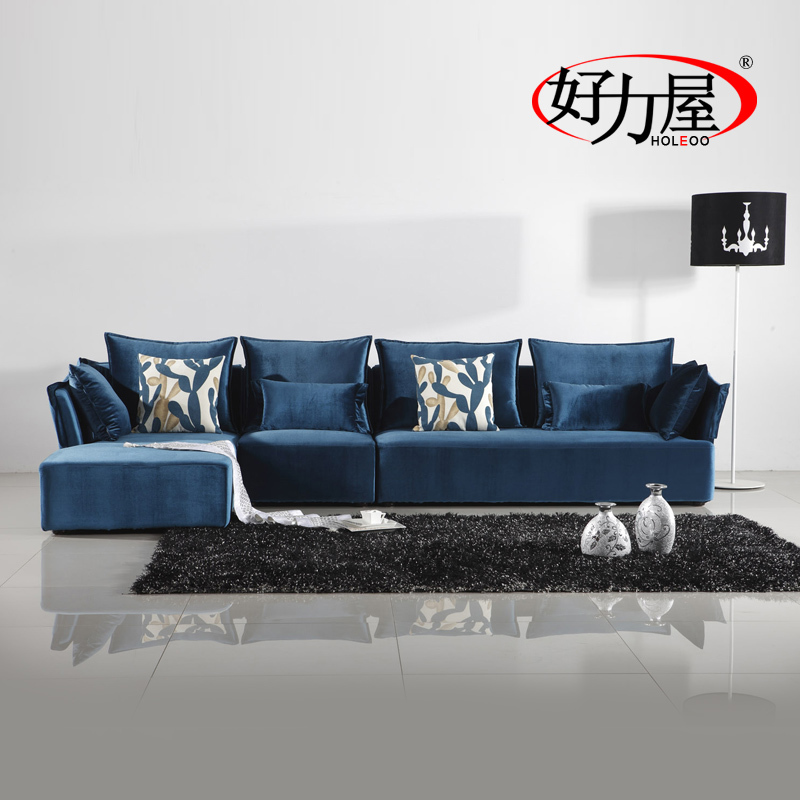 Good Power House Modern Living Room Mediterranean Fashion