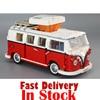 LEPIN 21001 1354Pcs Technic Series T1 Camper Van Model Building Kits Set Bricks Toys Compatible With