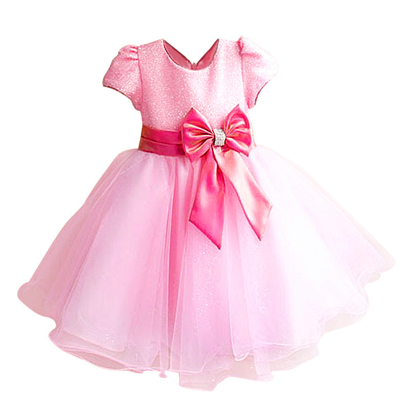 New kids princess dress for girls dresses for summer party dress Wedding flower girl dress girls clothing gift 6 colors new fashion embroidery flower big girls princess dress summer kids dresses for wedding and party baby girl lace dress cute bow