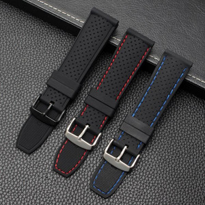 22mm Soft Silicone Watch Strap
