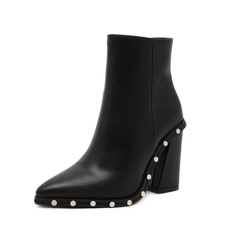 GUMANDUO Winter The most popular The latest big name trends are atmospheric rivets, pointed heels, and high-heeled women's Boots sanat kumar das and achuthan jayaraman atmospheric radiative forcing